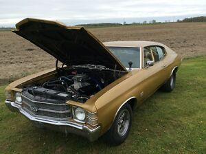 1971 CHEVELLE SS BIG BLOCK RUST FREE CALIFORNIA CAR