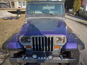 1989 Jeep Wrangler Laredo Other