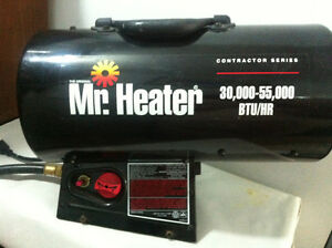 Mr. Heater MH55FAV contract series forced air propane heater