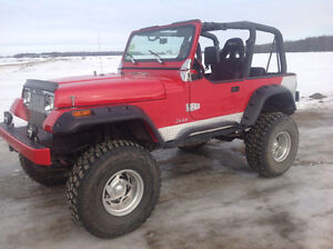1992 Jeep Wrangler moteur V8 ( pour connaisseurs )