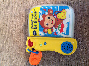 Vtech Sing and Squeak bath book