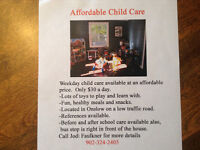 Weekday Child Care Lower Onslow