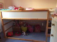 IKEA Children's KURA reversible bed