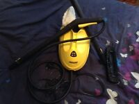 Karcher steam cleaner.