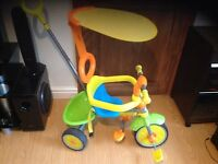 Grow and go children tike bike push along kids toy