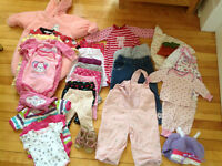 Nice selection of baby clothes