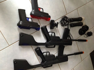 PlayStation 3 Move System with accessories and games.
