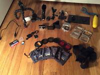 New GoPro HERO4 Black + TONS of Accessories