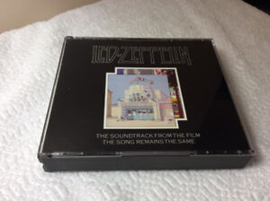 """Led Zeppelin """"The Song Remains the Same"""" (2 cd) - Soundtrack"""