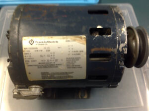 1/4 hp electric motors. Prestolite and franklin electric
