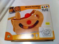 Plan Toys 'Miracle Pounding' Toy, NEW in box