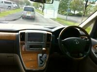 2004 Toyota Alphard 3.0 8 seats 5dr Auto * 33,000 MILES * FRESH IMPORT JUST ARRI