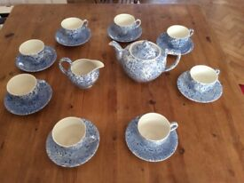 Burleigh tea set for sale