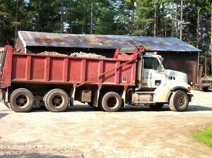 1999 sterling tri axle dump truck
