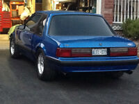 1989 fox body mustang or trade