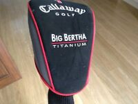 GALLAWAY BIG BERTHA NUMBER ONE DRIVER RIGHT HAND 11 degree. REGULAR GRAPH SHAFT.