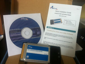 AIRLINK WIRELESS CARDBUS ADAPTER 54 MBPS