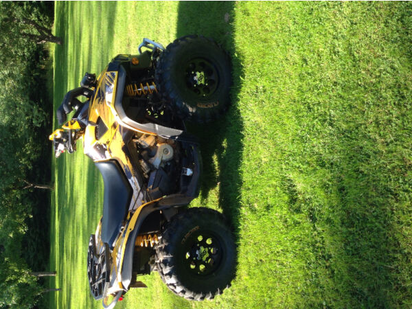 Used 2009 Can-Am 800r renegade