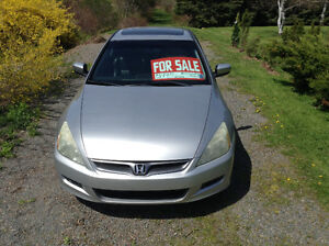 2007 Honda Accord Upgraded console/dash Coupe (2 door)