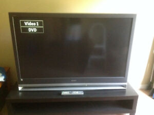 "Sony 55"" LCD Rear Projection Television"