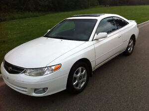 2000 Toyota Solara SEL Coupe - Looks and Drives Like New
