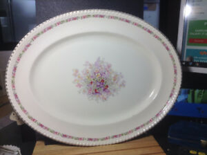 "Johnson Brothers The Queen's Bouquet Large Oval 18"" Platter Very"
