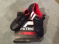 Patrick Rugby Boots Size UK 8 EUR 42 Excellent Condition. Could be used for Football.