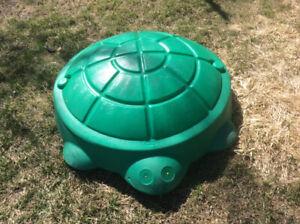 bac à sable tortue