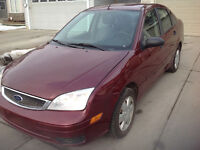 2007 Ford Focus Sedan with remote starter