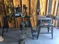 Table saw,miter saw