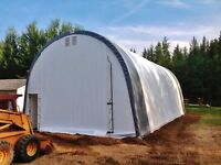 20x30ft fabric building new in metal box