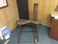 Antique saddle makers bench; make a serious offer.