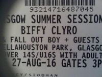 2x Biffy Clyro tickets @Bellahouston Park