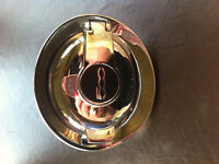 Chrome Gas cover for Fiat 500