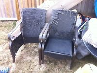 Free damaged project chairs good solid frames