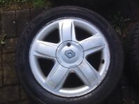 """15"""" RENAULT CLIO ALLOY WHEELS PCD 4X1OO FITMENT"""