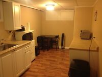 Students - 2 furnished basement bedrooms and living area to rent