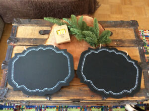 Wedding Decorations and Accessories - Chalkboard Set