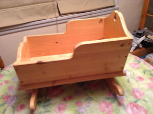 HOMEMADE CRAFTED CRADLE