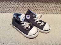 All Star shoes sizes 6 grey and 11 green