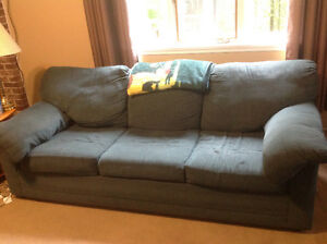 Sofa bed and loveseat set