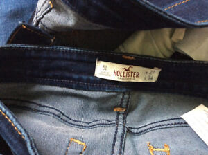 Holister jeans size 5, 27 waste, long, stretchy