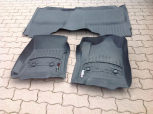 For sale Weather Teck truck front and back mats .