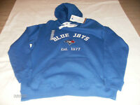 BNWT TORONTO BLUE JAYS STITCHED/EMBROIDERED HOODY SMALL