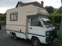 Bedford Bambi camper van , extremely reliable, 12 months MOT