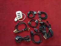 Selection of scart leads tv £2 each or make me an offer