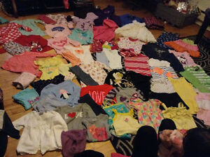 Selling two bags of girl clothes sizes 2t-4t