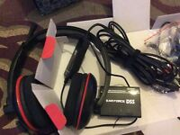 Turtle Beach P11 headset with DSS 7.1 surround processor. For PS3/PS4