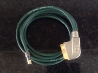 IXOS AUDIO VISUAL CABLE. 3M length CAN POST