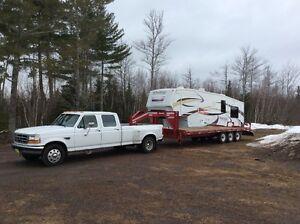 Hot shot, Flat deck,RV hauling